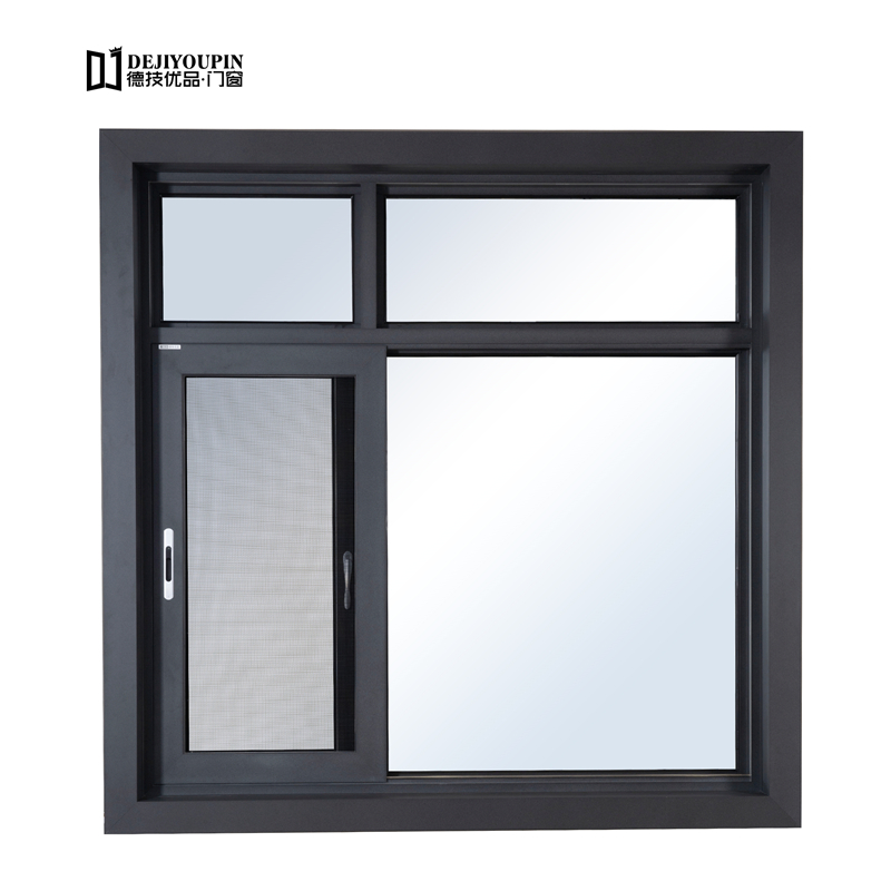 130窗纱一体断桥平开推拉窗