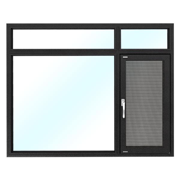 法兰克福118系列窗纱一体断桥平开窗