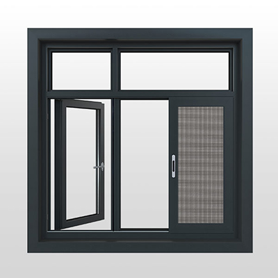 温莎城堡130系列断桥窗纱一体平开窗(外)