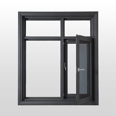 150系列断桥窗纱一体平开窗